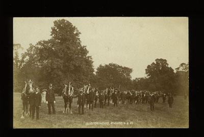 Reigate Horse Parade postcard